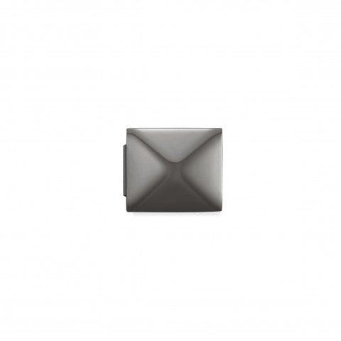 Link_Composable_GLAM_Piramide_Nera_Link_in_Acciaio_con_Simboli_in_rilievo