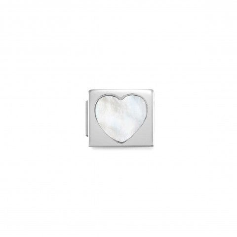 Link_Composable_GLAM_Cuore_Madreperla_Link_in_Acciaio_con_simbolo_d'amore