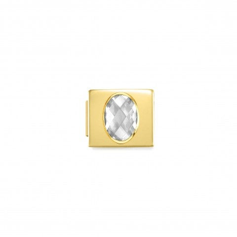 Link_Composable_GLAM_pvd_dorado_Cristal_Blanco_Link_en_Acero_y_pvd_dorado_con_Cubic_Zirconia_blanco
