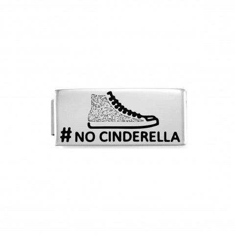 Link_Doble_Composable_GLAM_No_Cindarella_Link_Doble_en_Acero_con_texto_y_esmalte_Glitter