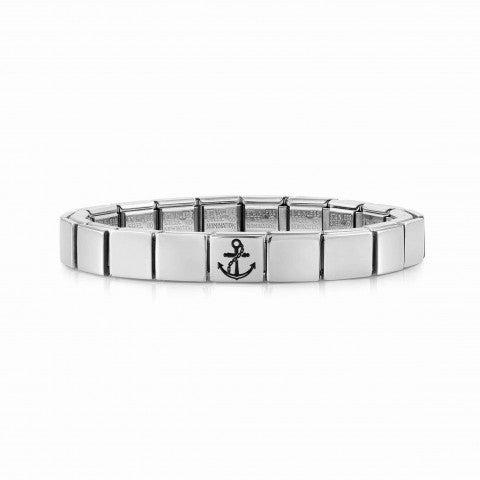 Composable_GLAM_bracelet,_Anchor_Bracelet_for_Him_with_symbol