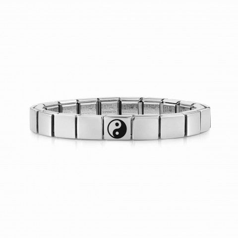 Bracciale_Composable_GLAM_Ying_Yang_Bracciale_Uomo_in_Acciaio