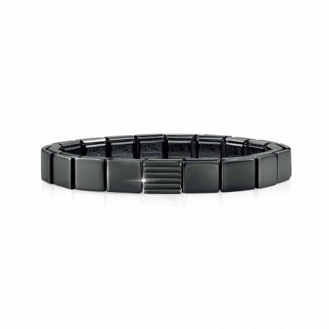 Composable_GLAM_Black_bracelet_with_Stripes_Bracelet_in_stainless_steel_for_Him