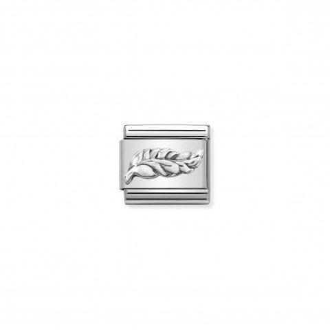 Composable_Classic_Link_plume_en_argent_Link_en_argent_925_avec_symbole