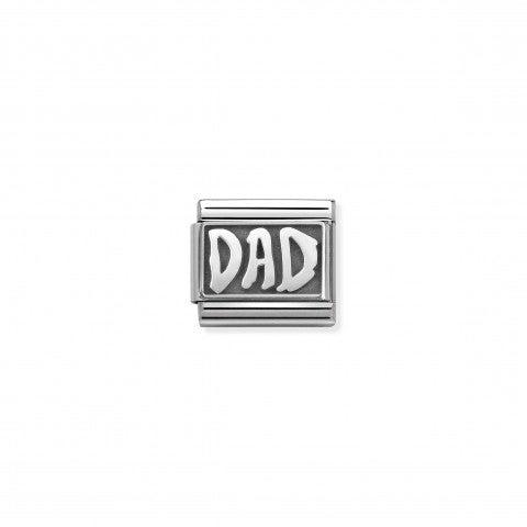 Link_Composable_Classic_DAD_Link_con_tema_famiglia_in_Acciaio