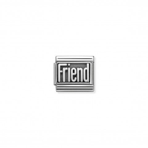 Composable_Classic_Link_Silver_Friend_Friendship_Link_in_sterling_silver_with_writing