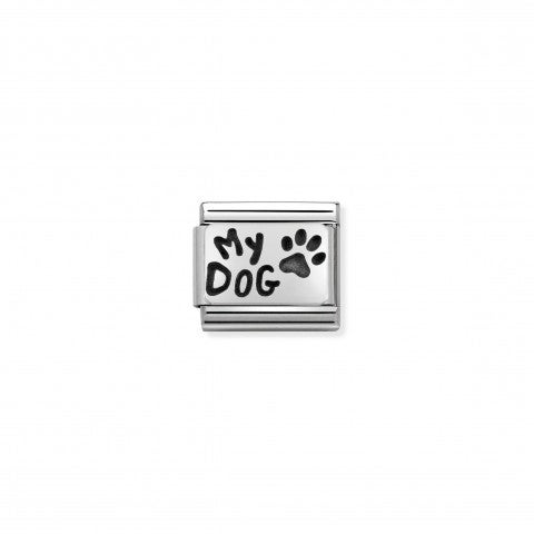Composable_Classic_Link_Silver_My_Dog_Animals_and_Pets_Link_in_sterling_silver_and_enamel
