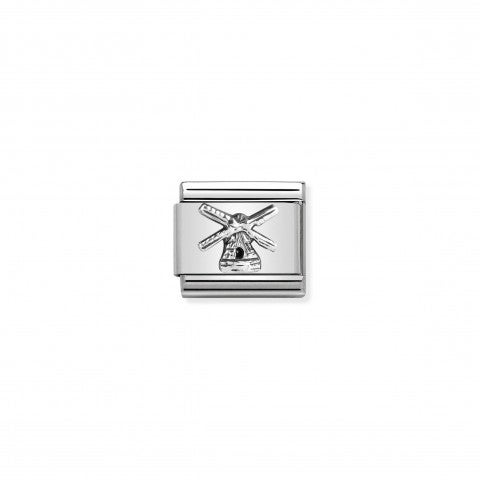 Composable_Classic_Link_Windmill_silver_Link_Monument_symbol_in_sterling_silver