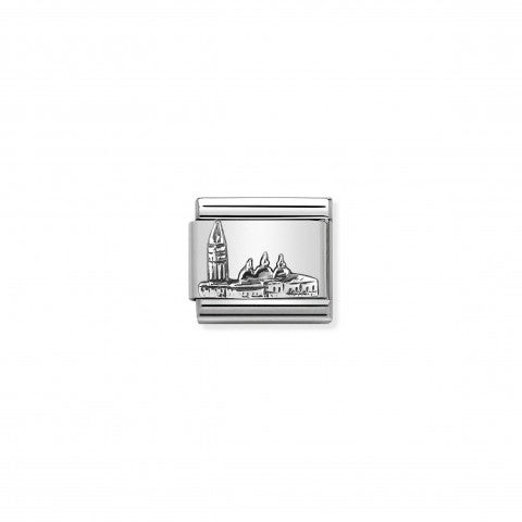 Composable_Classic_Link_St._Mark's_silver_Sterling_silver_Link_with_Italian_Monument_in_relief