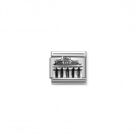 Composable_Classic_Link_Brandenburg_Gate_silver_Best-seller_Link_in_sterling_silver,_Germany_symbol