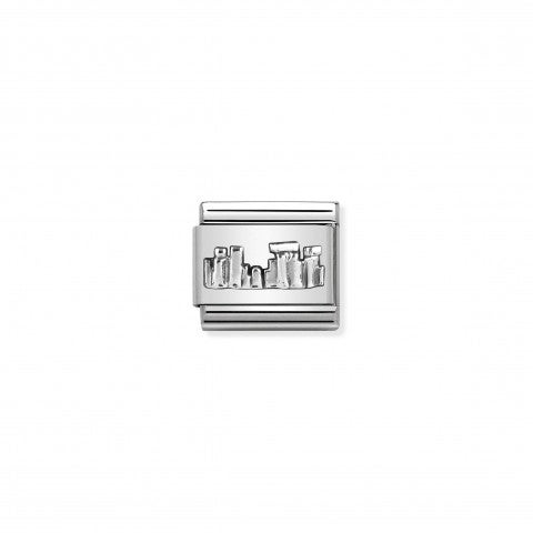 Composable_Classic_Link_Stonehenge_silver_Link_in_sterling_silver_with_England_symbol