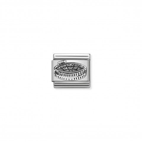 Composable_Classic_Link_Verona_Arena_silver_Sterling_silver_Link_with_Verona_Amphitheatre_symbol