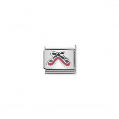 Composable_Classic_Pink_Dance_Shoes_Link_Link_with_Shoes_in_sterling_silver_and_enamel