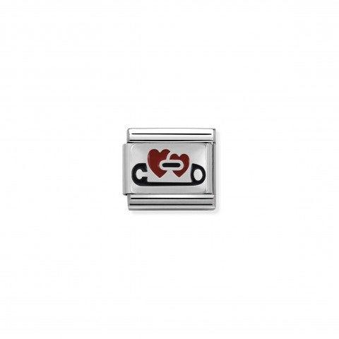Link_Composable_Classic_Cuori_con_Spilla_Link_in_Argento_con_Cubic_Zirconia_Zodiaco