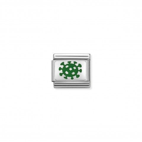 Composable_Classic_Link_Corona_Virus_Link_with_sterling_silver_symbol