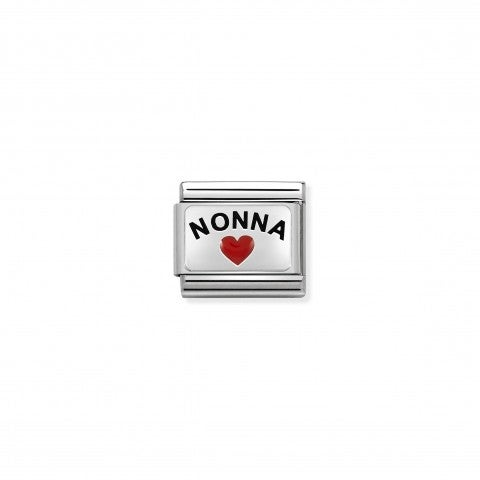 Composable_Classic_Nonna_and_Heart_Link_Link_with_writing_enamel_and_symbol._#oneformeoneforyou