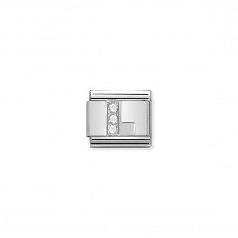 Link_Composable_Classic_en_Argent_Lettre_L_Link_en_Argent_et_Cubic_Zirconia_avec_Lettres_Alphabet