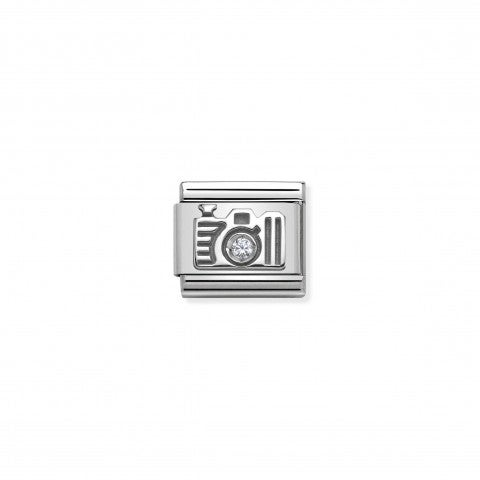 Composable_Classic_Link_Camera_in_Silver_and_Stone_Technology_Link_with_Camera_symbol_in_silver_and_Cubic_Zirconia