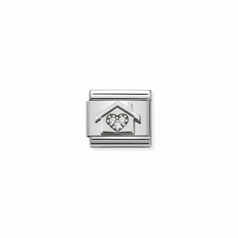 Composable_Classic_Link_House_Zirconia_Heart_Link_in_Sterling_silver_with_white_Cubic_Zirconia
