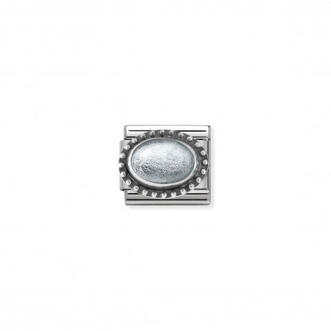 Composable_Classic_Silver_Rock_Crystal_Link_Link_with_Rock_Crystal_with_silver_leaf