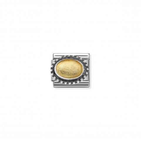 Composable_Classic_Gold_Rock_Crystal_Link_Link_with_Rock_Crystal_with_golden_leaf
