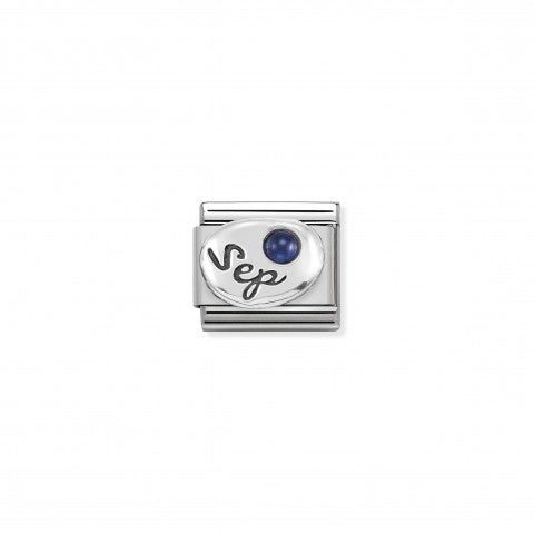 Composable_Classic_September_Link_in_Silver_Link_with_Sapphire_gemstone