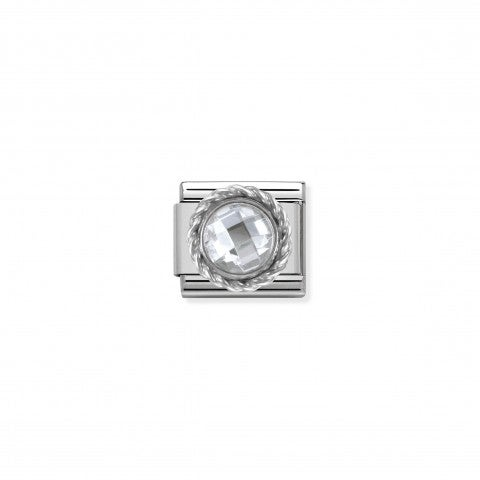Link_Composable_Classic_in_Argento_Pietra_Bianca_Link_in_Argento_e_Cubic_Zirconia_sfaccettato