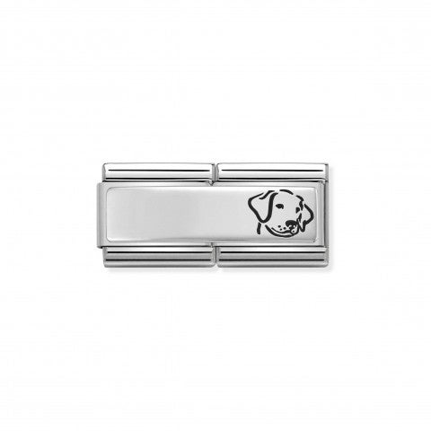 Classic_Composable_Double_Link_Dog_Link_for_Inscription_in_Sterling_Silver_and_Enamel