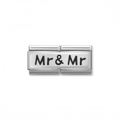 Link_doppio_composable_classic_Mr_e_Mr_Link_in_Argento_925_ossidato_con_incisione_Mr_&_Mr