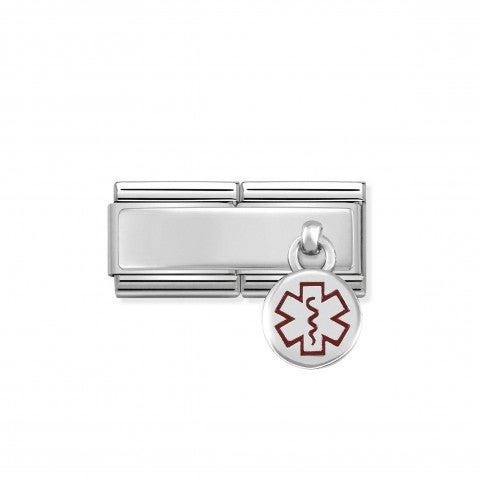 Composable_Classic_Link_Medical_Alert_Engraving_link_in_silver_and_enamel