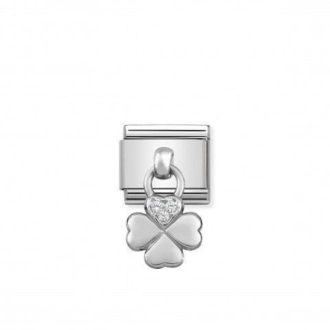 Composable_Classic_Link_Silver_pendant_Clover_Link_in_sterling_silver_and_stones_with_Good_Luck_pendant_symbol