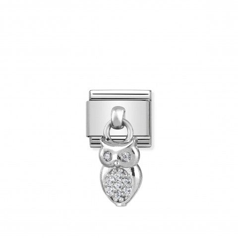 Composable_Classic_Link_Owl_pendant_with_stones_Pendant_Link_in_sterling_silver_and_Cubic_Zirconia_Animal