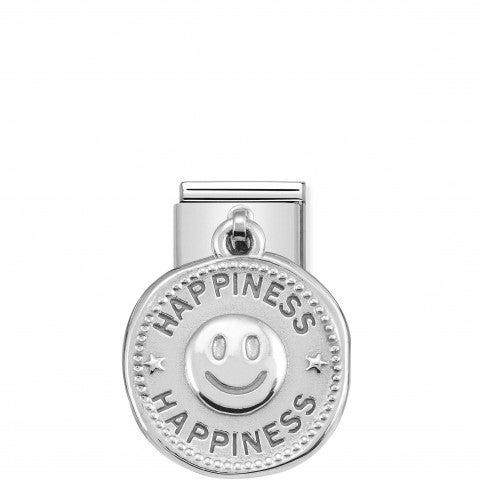 Link_Composable_Classic_pendente_Felicità_Link_con_pendente_Smile_in_Argento_925