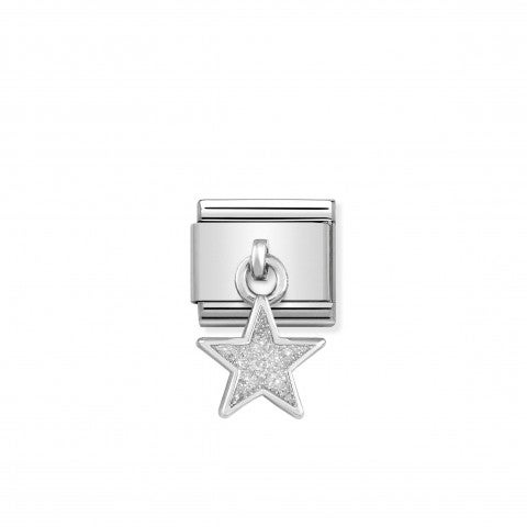 Link_Composable_Classic_Pendente_Stella_n_Argento_Link_in_Argento_925_e_Glitter_con_pendente_Stella