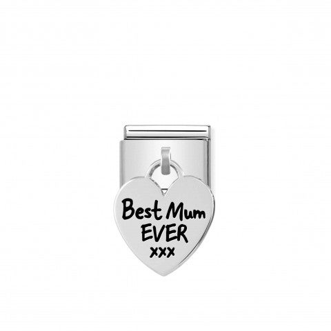 Composable_Classic_Link__silver_Heart_BEST_MUM_Limited_Edition_Pendant_Link_with_Family_theme