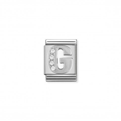 Link_Composable_Big_Lettera_G_in_Argento_e_Pietre_Link_in_Argento_925_e_Cubic_Zirconia_con_lettera_G