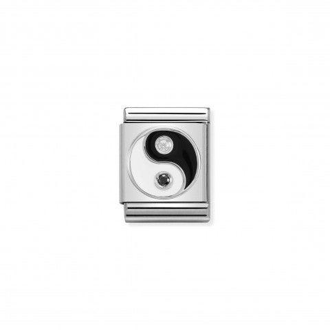 Link_Composable_Big_Yin_Yang_in_Argento_e_Pietre_Link_Big_in_Acciaio_e_Cubic_Zirconia