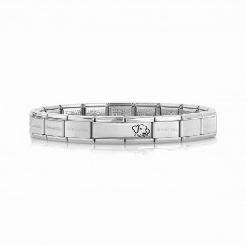Classic_Composable_Bracelet_with_Dog_Inscribable_Composable_Bracelet_in_Sterling_Silver_with_Dog