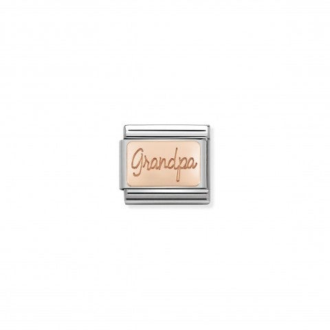 Composable_Classic_Grandpa_Link_in_Rose_Gold_Link_in_9K_rose_gold_and_stainless_steel_with_writing
