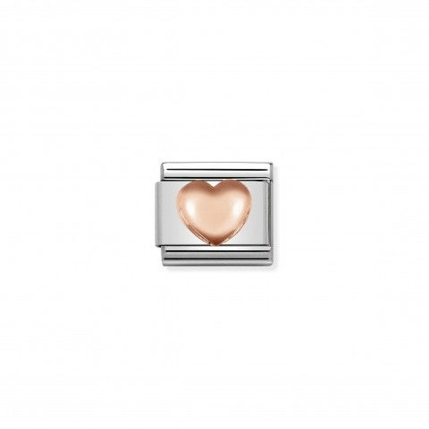 Composable_Classic_Link_Raised_Heart_in_9K_gold_Link_in_stainless_steel_and_rose_gold_Love_symbol