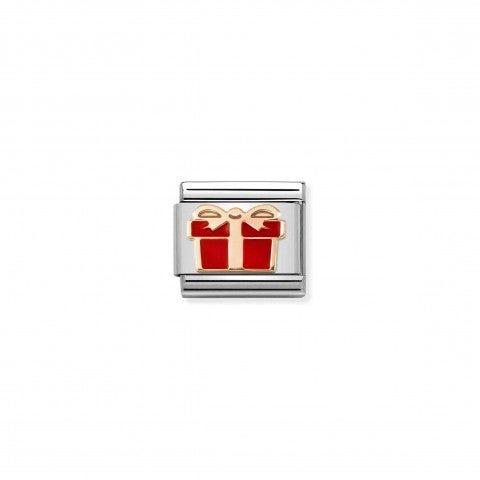 Link_Composable_Classic_Regalo_Rojo_Link_en_Oro_rosa_375_y_símbolo