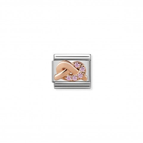 Composable_Classic_Link_Knot_Mother_and_Daughter_Link_with_9K_rose_gold_symbol_and_Cubic_Zirconia