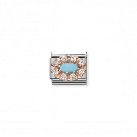 Composable_Classic_Link_Couture_Turquoise_9K_rose_gold,_hard_stones_and_Cubic_Zirconia_Link