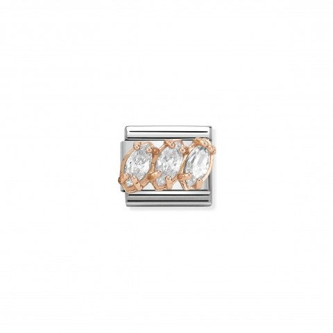 Link_Composable_Classic_Couture_Trittico_bianco_Link_Couture_in_Oro_rosa_e_trittico_Cubic_Zirconia