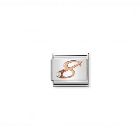Composable_Classic_Link_Number_8_in_Rose_Gold_Link_with_numeral_in_9K_rose_gold_and_white_Zirconia