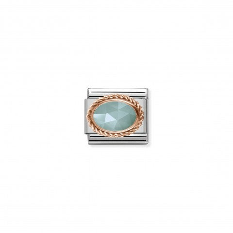Composable_Classic_Link_with_Amazonite_Stone_Link_with_details_in_rose_gold_and_Amazonite