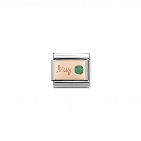 Composable_Classic_May_Link_in_Rose_Gold_Link_in_9K_rose_gold_and_emerald