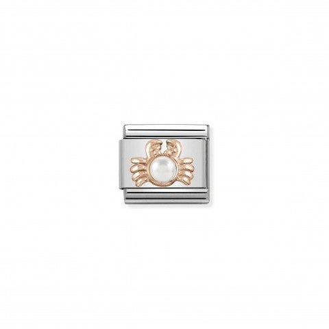 Composable_Classic_Crab_Link_with_Pearl_Link_in_9K_rose_gold_with_animal