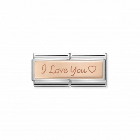 Composable_Classic_I_Love_You_Double_Link_with_Heart_Double_Link_in_steel_and_9K_rose_gold_with_engraving