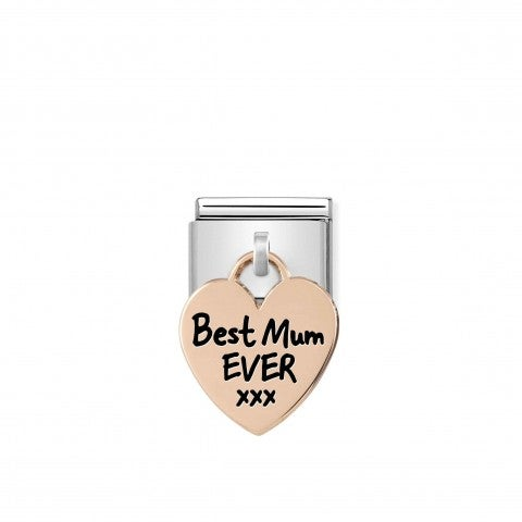 Composable_Classic_Link__rosegold_Heart_BEST_MUM_Limited_Edition_Pendant_Link_with_text